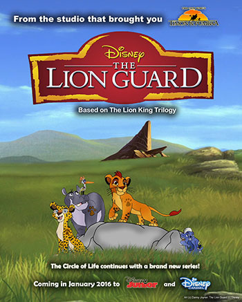 دانلود کامل فصل اول 1 انیمیشن سریالی گارد شیر The Lion Guard 2016