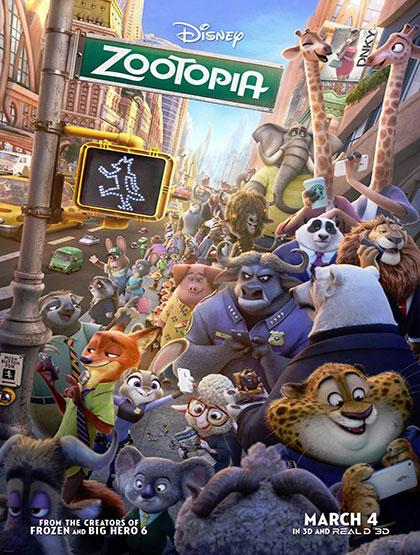 دانلود رایگان انیمیشن Zootopia 2016 با لینک مستقیم