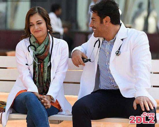 عکسی از محمدرضا گلزار در کنار بازیگر خارجی