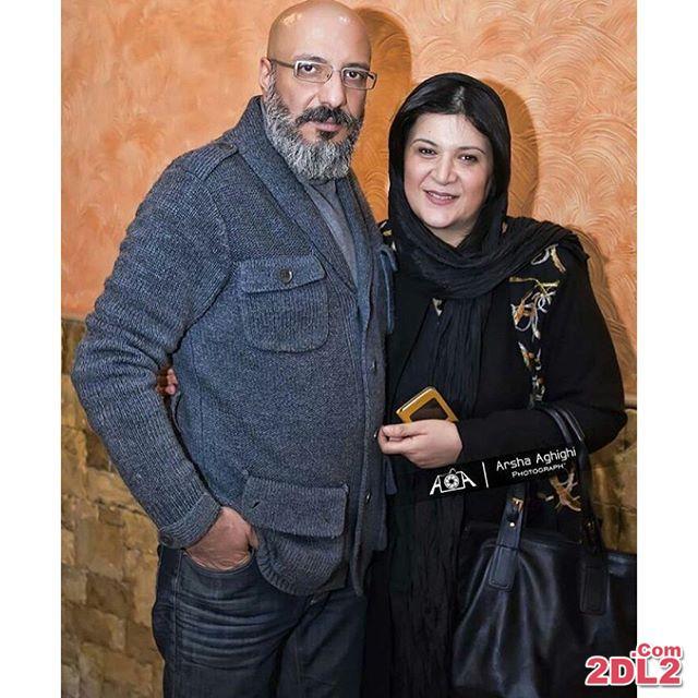عکس جدید منتشر شده از امیر جعفری در کنار همسرش