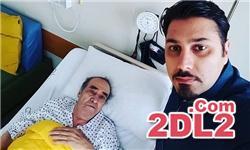 خواننده ایرانی برای انجام عمل جراحی در بیمارستان بستری شد + عکس