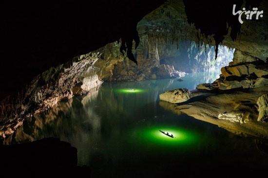 سفر به یکی از بزرگترین غارهای آبی زمین