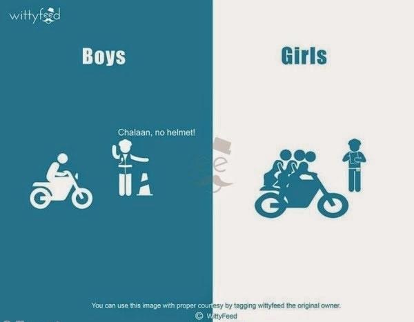 تفاوت دخترا و پسرا... (طنز جالب)