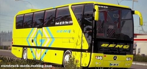 اتوبوس فوق العاده مرسدس بنز O403 برای یورو تراک