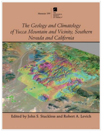 کتاب زمین شناسی و اقلیم شناسی کوهستان یاکا و پیرامون جنوب نوادا و کالیفرنیا