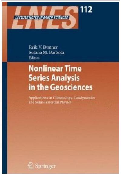 کتاب تجزیه و تحلیل سری های زمانی غیر خطی در علوم زمین