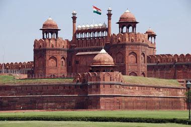 لال قلعه(قلعه سرخ)در هندوستان
