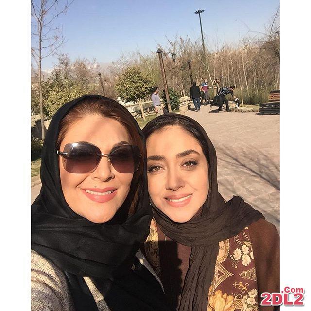 عکس جدید منتشر شده از لاله اسکندری در کنار بهاره کیان افشار