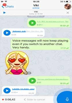 پیام رسان صوتی نسخه 2.0 و پیام خصوصی نسخه 3.0 و ...