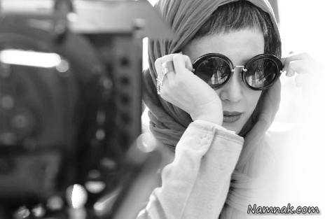"""موهای کوتاه """"الناز حبیبی"""" در فیلم المپیک + عکس"""