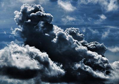 ابرهای تیره رنگ ابرهای بارانزا هستند