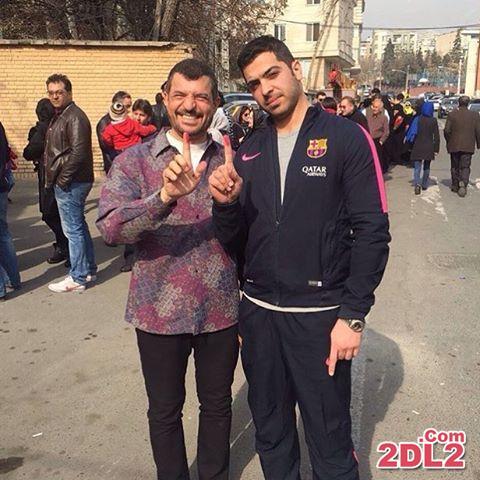 عکس منتشر شده از محمود شهریاری بعد از رای دادن