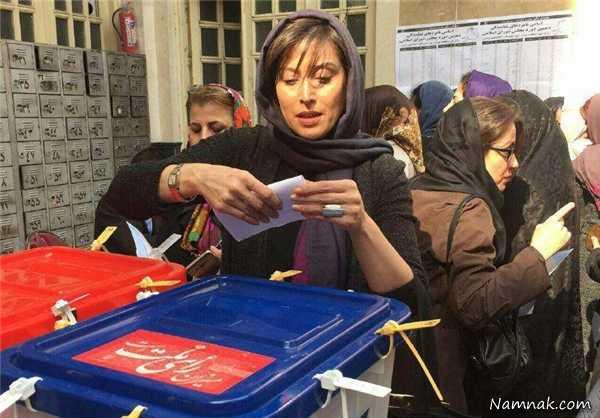 """رای دادن بازیگران، مجریان و ورزشکاران مشهور در """"انتخابات 94"""" + تصاویر"""