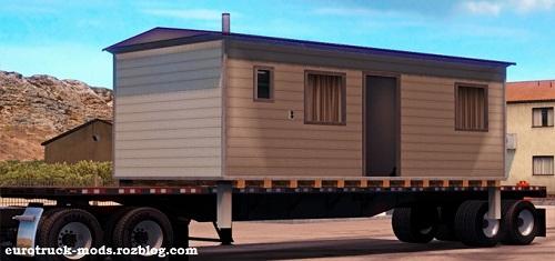 دانلود پک انواع تریلر کفی برای بازی american truck simulator