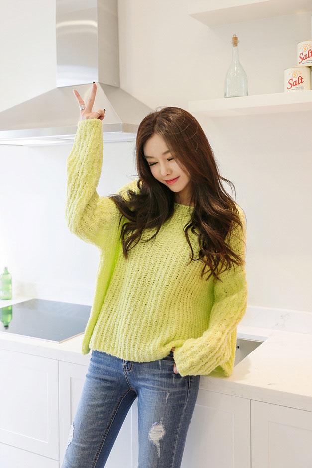 مدل های  لباس بافتنی کره ای شیک و دخترانه در سال2016