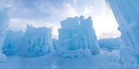 پارک های یخی زمستانی در کانادا+تصاویر