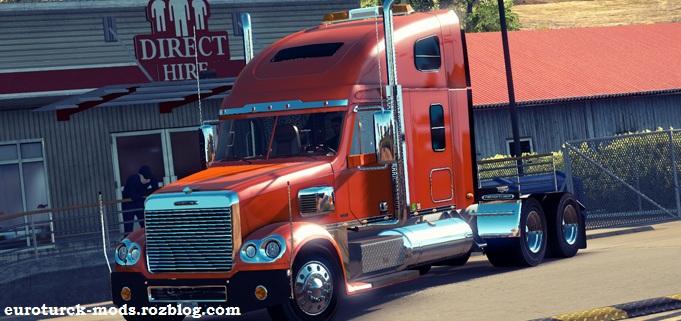 دانلود کامیون freightliner coronado ورژن جدید برای ats