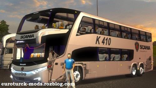 دانلود اتوبوس فوق العاده مارکوپولو G7 برای یورو تراک