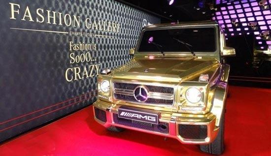 طلایی ترین بنز جهان