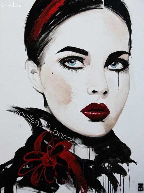 عکس نقاشی دخترانه جدید و خوشگل