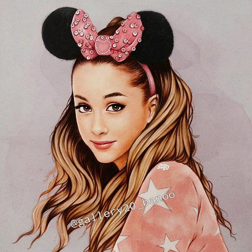 تصاویر نقاشی دخترانه برای پروفایلم در تلگرام