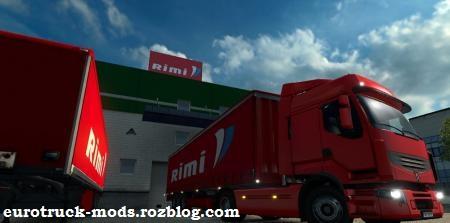 دانلود مد 6 کمپانی جدید برای بازی یورو تراک