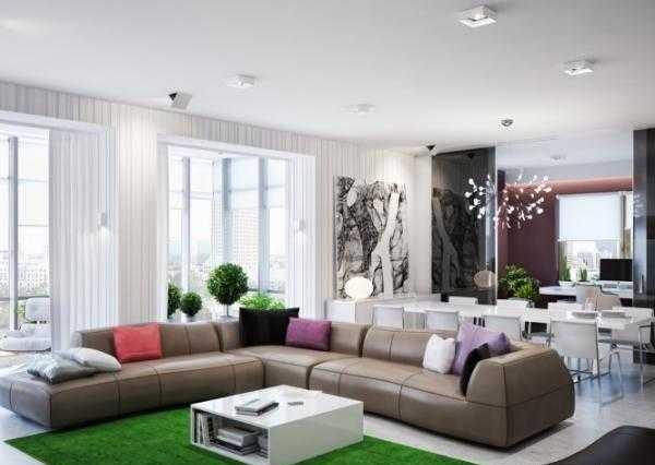 دکوراسیون داخلی یک آپارتمان دردنشت + تصاویر