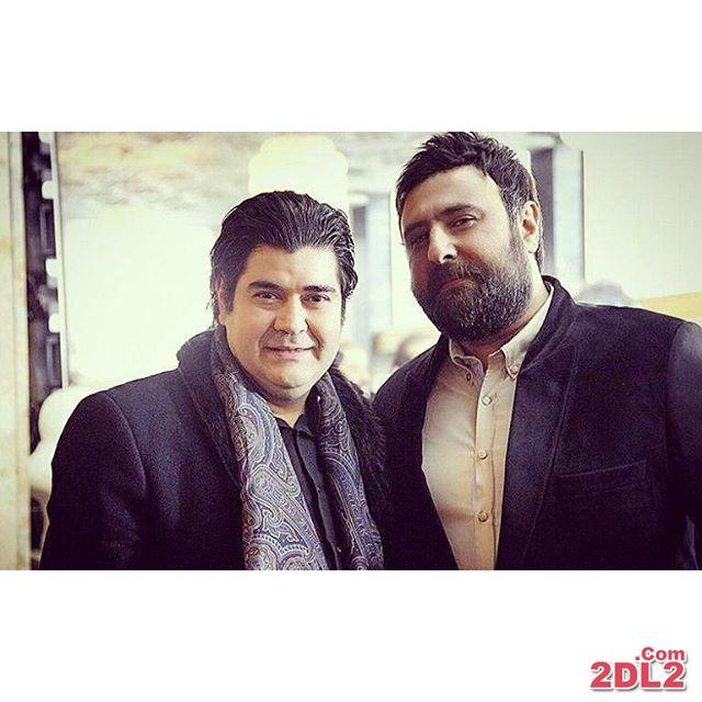 عکس جدید سالار عقیلی در کنار محمد علیزاده