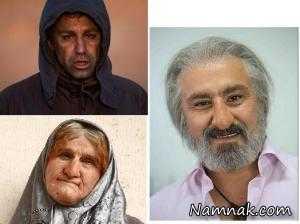 """گریم های باور نکردنی """"محسن تنابنده"""" + تصاویر"""