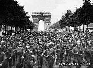 نماز جماعت سربازان لشکر سیزدهم آلمان نازی! + عکس