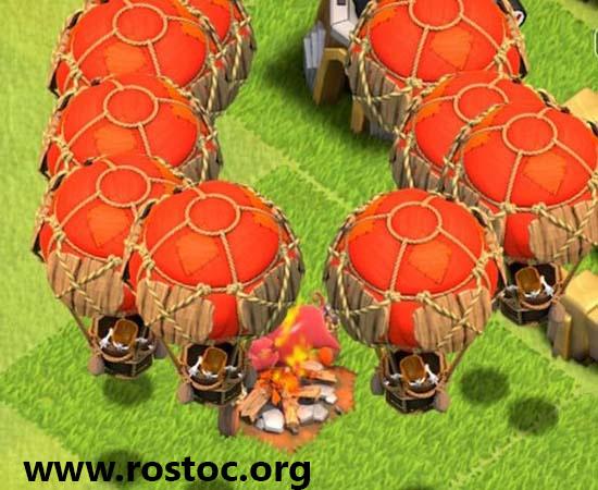 استراتژی حمله با بالون نظامی – Balloon