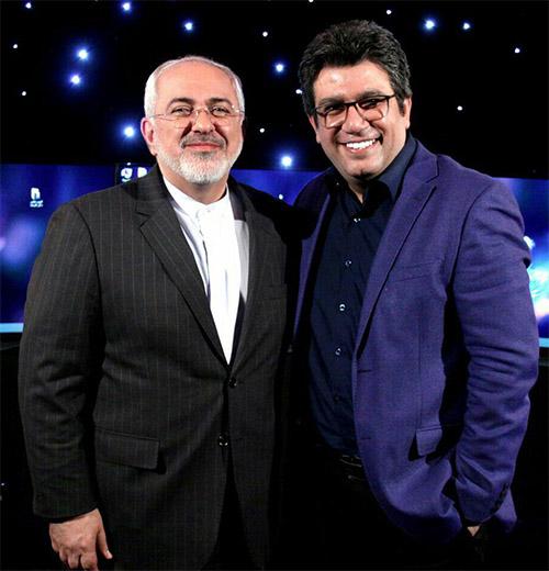 مصاحبه برنامه دید در شب با حضور محمدجواد ظریف