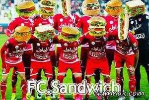 شوخی ساندویچی استقلالی ها با پرسپولیس + عکس