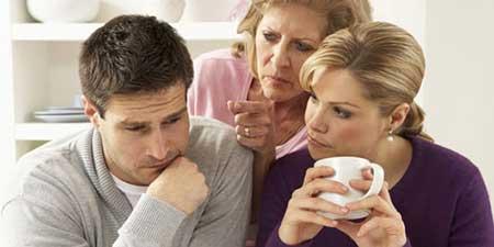 بهبود بخشیدن به رابطه مادر زن و داماد
