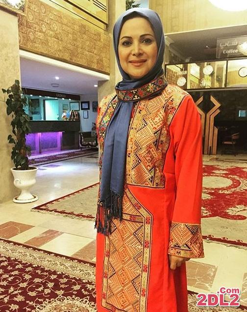عکسی از کمند امیرسلیمانی با لباس زیبای بلوچی