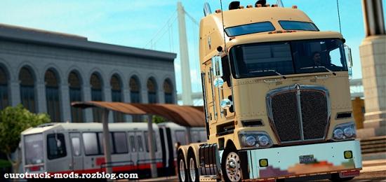 دانلود کامیون kenworth k200 ورژن 11 برای american truck simulator