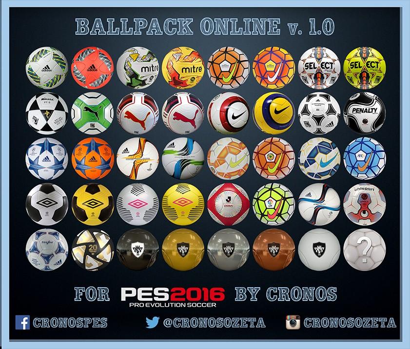دانلود  توپ برای PES 2016