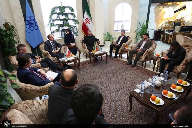 هیات اقتصادی لهستان در مشهد+گزارش تصویری