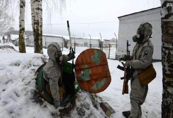 مانور زنان ارتش روسیه