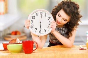 ترفندهای کاهش وزن سریع برای خانم های شاغل!!