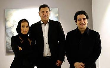 علی دایی و خواننده مشهور و هنرمند زن