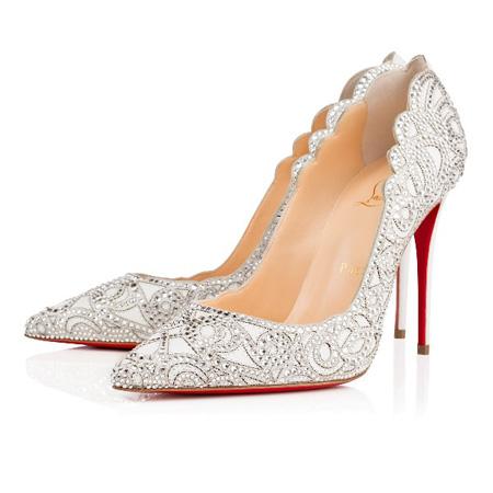 جدیدترین مدل کفش عروس در سال95