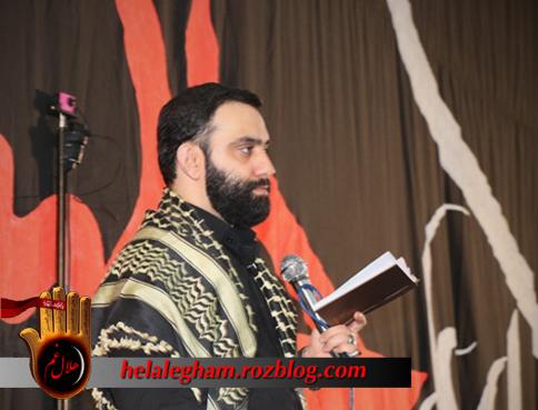 گزارش تصویری و صوتی ایام فاطمیه میبد با مداحی جوادمقدم 94