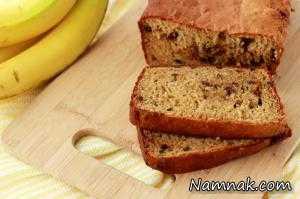 طرز تهیه نان موزی عسلی