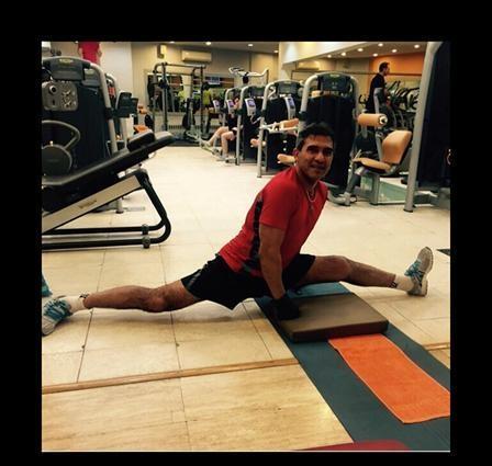عکسی از آمادگی بدنی احمدرضا عابدزاده