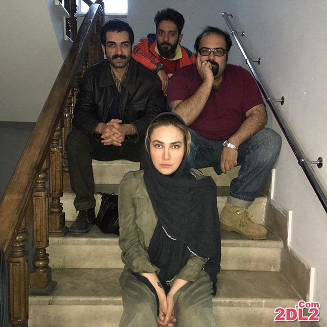 آنا نعمتی عکسی از پشت صحنه فیلم آپاندیس منتشر کرد