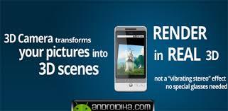 نرم افزار اندروید برای گرفتن عکس سه بعدی