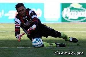 دزدیدن دستکش جام جهانی 98 احمدرضا عابدزاده + عکس
