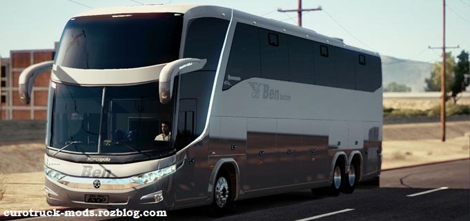 دانلود اتوبوس مارکوپولو Gv 1600 برای american truck