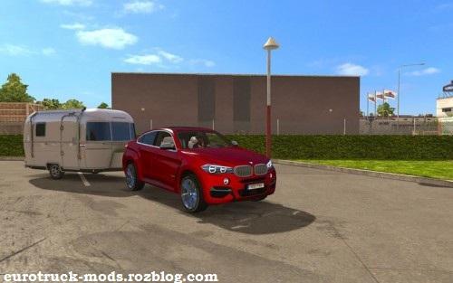 دانلود ماشین BMW X6 M ورژن دوم برای بازی یورو تراک